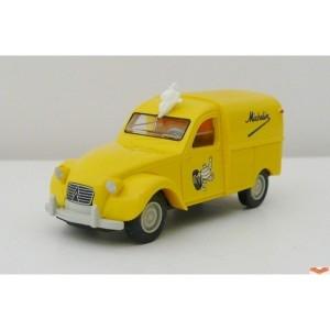 voiture miniature CITROEN 2CV 1/87