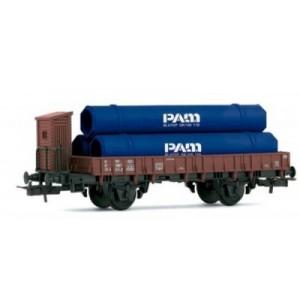 Wagons Plats à essieux - HO