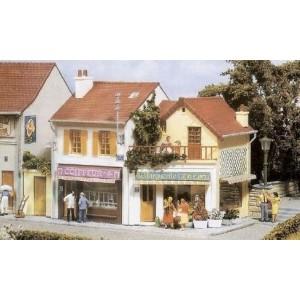 Maquettes de commerces et magasins - HO