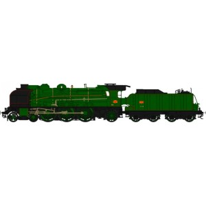 Locomotive vapeur 231D et 231G SNCF - HO