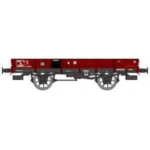 Wagons Plats à essieux OCEM 19 - HO