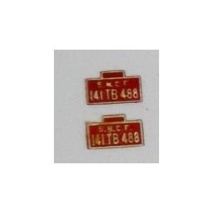 plaque laiton 141TB