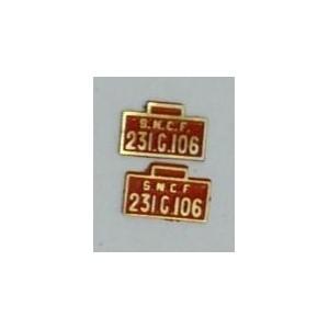 plaque en laiton 231G